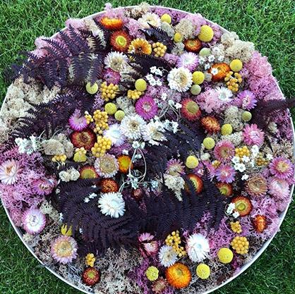 Blomstervæg